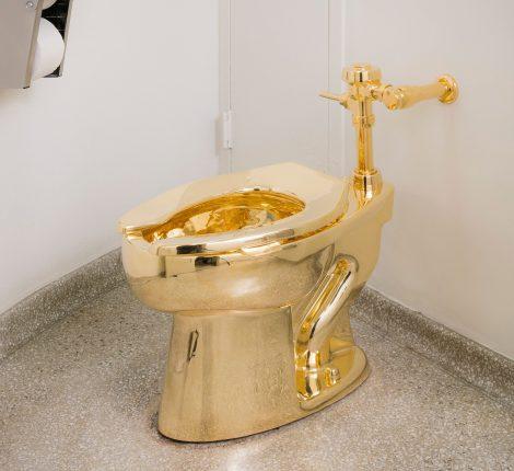 retrete de ouro